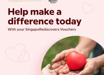 Donation to Special Olympics Singapore